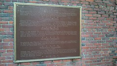 Paul Revere Mall (Jason Riedy) Tags: boston massachusetts marker historicalmarker siamcse13