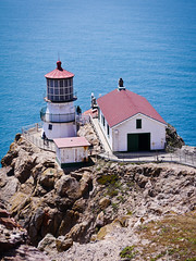Point Reyes Lighthouse (Julien_V) Tags: ocean california park usa lighthouse pacific pointreyes parc phare californie ocan pacifique