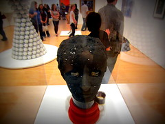 creepy head (Shockingly Tasty) Tags: sf sanfrancisco sculpture art museum modernart sfmoma moma