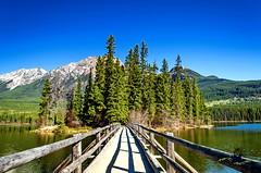 DSC_4523-01 (arvic_81) Tags: lake mountains rockies jasper pyramid lakes canadian alberta patricia albertacanada jaspernationalpark