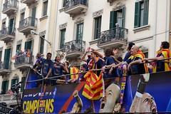 RUA DEL BARA (Yeagov C) Tags: barcelona catalunya rua futbol bara esport vialaietana futbolclubbarcelona ruadelbara