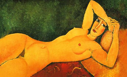 "Majas, homenajes de Francisco de Goya y Lucientes (1802), Eugéne Delacroix (1826), Amadeo Modigliani (1916), Pablo Picasso (1906), (1931), (1959), (1964). • <a style=""font-size:0.8em;"" href=""http://www.flickr.com/photos/30735181@N00/8746851657/"" target=""_blank"">View on Flickr</a>"