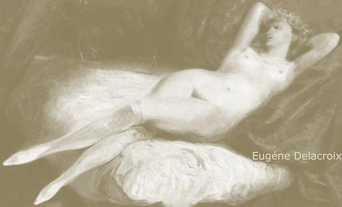 "Majas, homenajes de Francisco de Goya y Lucientes (1802), Eugéne Delacroix (1826), Amadeo Modigliani (1916), Pablo Picasso (1906), (1931), (1959), (1964). • <a style=""font-size:0.8em;"" href=""http://www.flickr.com/photos/30735181@N00/8747968302/"" target=""_blank"">View on Flickr</a>"