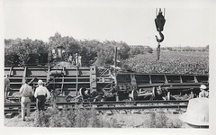Avoca, Iowa, Train Wreck, Rock Island Railroad (photolibrarian) Tags: trainwreck rockislandrailroad avocaiowa
