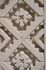 (sarabuchner) Tags: california museum pattern nativeamerican highrelief secretstaircasewalk