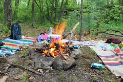 IMG_1156 (kelsble) Tags: wood friends summer food lake fun fire woods rocks teenagers teens tribal campfire bonfire drinks blanket backpacks towels soda bags blankets bunking