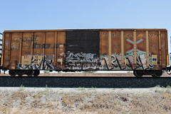 Show  Jukes?  Rank (Revise_D) Tags: show railroad graffiti rail rails rank tagging freight revised akb btr trainart taf fr8 icr benching fr8heaven