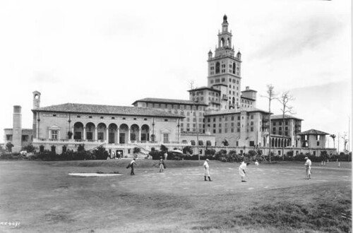 Golfers at the Miami Biltmore: Coral Gables, Florida