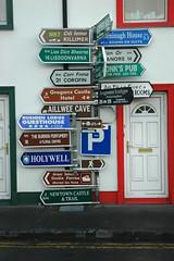 irland - straßenschilder II