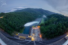 Fontana Dam (Frank Kehren) Tags: canon dam northcarolina spill f11 tva 815 appalachiantrail hydroelectric tennesseevalleyauthority fontanadam canoneos5dmarkii cheoahriver ef815mmf4lusm canonef815mmf4lusm