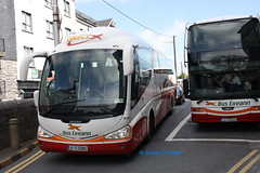 Bus Eireann SP100 (07D83819). (SC 211) Tags: galway scania buseireann eyresquare sp100 k114 irizarpb august2013 07d83819