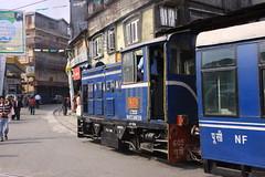 Darjeeling Himalaya Railways DHR 605 Kurseong India 15 maart 2010 (leo spee) Tags: india westbengal indianrailways narrowgaugerailways dhr darjeelinghimalayanrailway