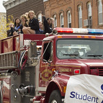 """<b>Homecoming Parade</b><br/> Photo By: Hanna Jensen<a href=""""http://farm8.static.flickr.com/7321/10141305166_8c630faf83_o.jpg"""" title=""""High res"""">∝</a>"""