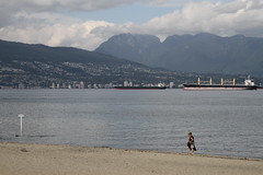 IMG_3969 (seannyK) Tags: beach cargoships northshore kitsilano kitsilanobeach