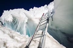 Onward and Upward (West Leigh) Tags: mountains climb washington mountaineering ladder mtrainier snowclimbing persevere