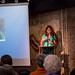 Valerie Weaver-Zercher speaks in Common Grounds