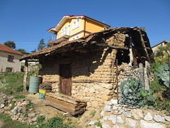 Crumbling outbuilding, Elani, Macedonia (Paul McClure DC) Tags: architecture historic macedonia ohrid balkans galiica oct2012 elani