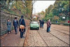 Ostalgie in Derbyshire (tatrakoda) Tags: auto old uk england classic film car museum 35mm geotagged nikon automobile estate kodak derbyshire voiture co