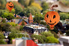 Origami Pumpkin Ballooning Over Toy-ronto's Heritage. October