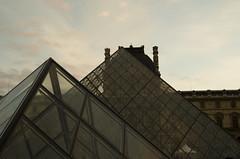 The Louvre Pyramid - Paris