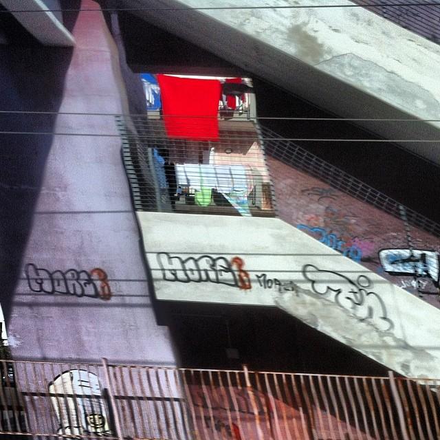 Il balcone del Dr. Caligari.