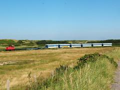 09-08-05 Wangerooge Westende - Saline 399 107 - 2 - 05 (tramfan239) Tags: db wangerooge 399 diesellok westende sonderzug 1000mm inselbahn schöma schmalspurbahn