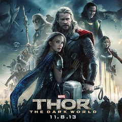 [12135] หลังจากหวัดไอมาสองวันวุ้ย กว่าจะลุกไปซื้อข้าวได้ *** ดู Thor 2 2013 จบลงได้ หนังดี พระเอกฟิต เอฟเฟ็คเยี่ยม เนื้อหาอะเคร ดีที่ฟื้นจำสองภาคก่อนได้เนาะ ^^ [8.1/10]