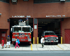 E045 FDNY Firehouse Ladder 58 and Battalion 18, West Farms, Bronx, New York City (jag9889) Tags: county city nyc house ny newyork building car station architecture truck movie fire automobile bronx chief south engine 45 company transportation vehicle borough ladder portfolio 18 firehouse avenue suv fdny department eagles firefighters tremont seagrave 58 1879 bravest battalion 2011 westfarms carolalt engine45 ladder58 battalion18 e045 y2011 jag9889