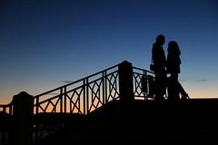 Legendary Lovers (Mrs Ugo) Tags: bridge venice sky sun love ponte venezia amore