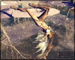 [P] Fly  down pose (Phoenix Meidoom(You.Gatcha Event)) Tags: fashion pose fly model avatar sl secondlife poses argrace stuffinstock