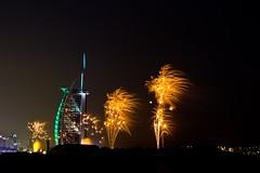 Dubai 2014 New Years' Eve Fireworks (ercallimages) Tags: wow al amazing dubai december fireworks jan nye uae january middleeast dec arab burjalarab newyearseve unitedarabemirates burj worldrecord thegulf 2014 1114 dubayy 2013 112014 311213 31122013