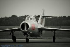 Mig-15 uti - Sb Lim 2-3907 (_OKB_) Tags: aircraft poland polska airshow sb mig15 mig15uti lim2 volkel2013
