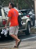 Parking lot grab-shot (LarryJay99 ) Tags: red hairy man male men guy feet walking beard parkinglot arms legs masculine manly watch handsome guys sneakers dude flipflops shorts mustache dudes stud studs virile braghettoni 52260mm ilobsterit