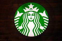Starbucks Logo (Jason Cipriani) Tags: lasvegas samsung starbucks 30mm nx300 samsungnx300 imagelogger ces2014 ditchthedslr