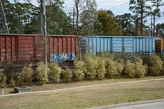 DTS_1763 (VIAL GRAFFITI) Tags: bench graffiti texas houston trains freighttrains freight graffititrain benching fr8trains fr8heaven dailybench