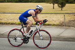 SuperSprint Gatorade Triathlon Race 2 - St Kilda (Bacoon) Tags: bike bicycle tattoo cycling australia melbourne victoria tri apollo triathlon stkilda gatorade supersprint bikeleg 2xu shimanoshoes stkildaboulevard