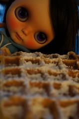 Yum waffles !