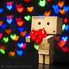 I'll never Lego of u. Happy Valentine's Day! (terenceleezy) Tags: reflection love reflections hearts japanese amazon nikon heart lego bokeh valentine cardboard jp vday mug valentines valentinesday strobe danbo happyvalentinesday happyvday strobist revoltech japanesefigurine d700 sb900 phottix danboard cardbo phottixstrato phottixstratos stereohearts mangayotsuba valentinedanbo