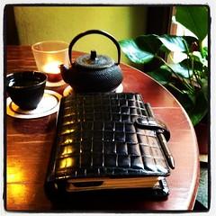 #Filofax Balmoral & green tea (iris30606) Tags: tea balmoral filofax instagramapp