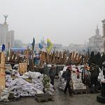 Kiev, barricades