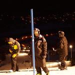 Coaches at Kimberley Night Slalom PHOTO CREDIT: Derek Trussler