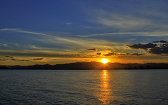 Ocaso (juanjofotos) Tags: naturaleza sol mar nubes nocturna puestadesol ocaso marmediterrneo nikond800 juanjofotos juanjosales