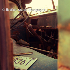 Junkyard Beauties (Heather Annee Photography) Tags: cars apple vintage rusty indiana junkyard gems finds iphone5s heatheranneephotography