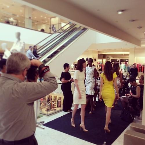 #niemanmarcus #models #catwalk #summer2014 #collection