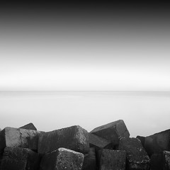 ... (alexey sorochan) Tags: longexposure sea sky bw white inspiration seascape storm black travelling beach nature water monochrome beautiful rock fog architecture clouds port photography coast harbor boat photo long exposure waves ship waterfront time stones c side ships foggy sailors odessa ukraine minimal stop filter nd prints cape forms summertime minimalism simple slope waterside seaport ripe breakwater brink arhitecture sealandscape wavecutter inspiratiom watersidesea