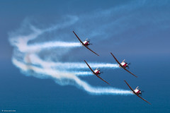 IMG_7041 (xnir) Tags: happy israel telaviv team day force aviation air tel aviv independence t6 aerobatic nir 66th texanii benyosef xnir  idfaf