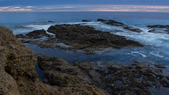 Laguna Beach Tide Pools, Canon T3i Long Exposure (www.Freesunsetpictures.com) Tags: ocean longexposure blue cloud reflection water pool clouds canon reflections long exposure waves tide wave pools tidepools tidal lagunabeach t3i canont3i lagunabeachtidepools