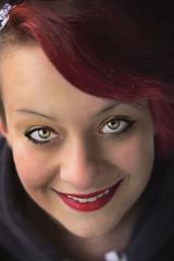 Redhead girl (martina.spoljaric1989) Tags: portrait woman girl beautiful smile fashion redhead greeneyes expressive lipstick retouch