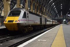43310 Sits on the blocks at London Kings Cross (Daniel Henkes) Tags: world london st speed train for 1 coast high war cross east kings fallen ww1 pancras 91 intercity hst