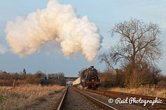 48624-Charter-p2-83 (Steven Reid - Reid Photographic) Tags: heritage train smoke engine railway steam locomotive 280 lms greatcentralrailway gcr 8f stanier 48624 8fclass